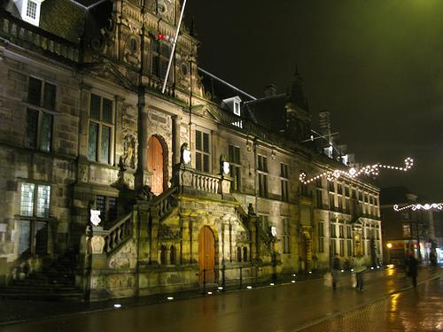 El Stadhuis o Ayuntamiento de Leiden