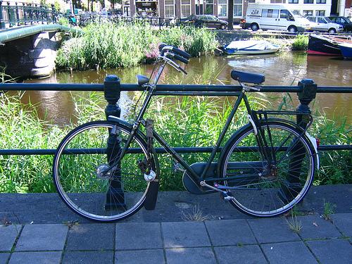 Moverse por Amsterdam en bicicleta
