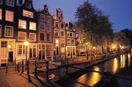 Canales de Amsterdam