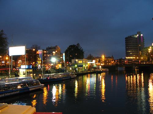 Cruceros nocturnos en Amsterdam
