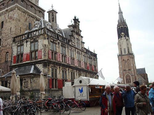 Grote Markt de Delft