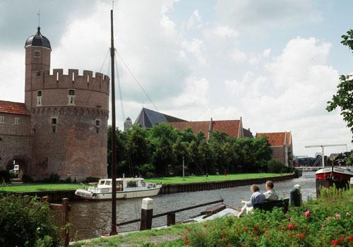 Holanda en barco y bicicleta