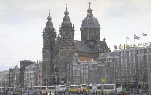 La Iglesia de San Nicolás en Amsterdam