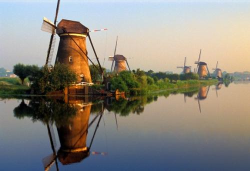 Patrimonio de la Humanidad en Holanda