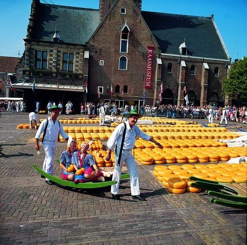 El Mercado De Quesos De Alkmaar