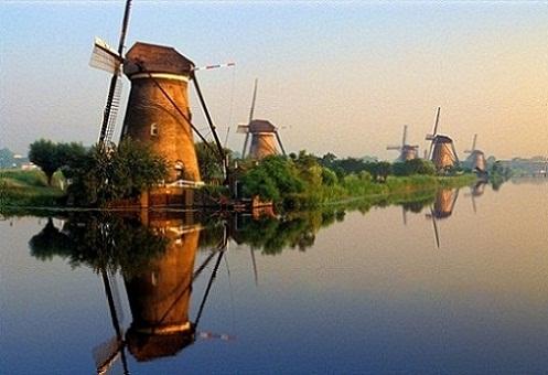 La geografía de los Países Bajos