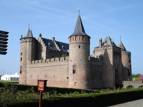 El Castillo de Muiderslot en Muiden