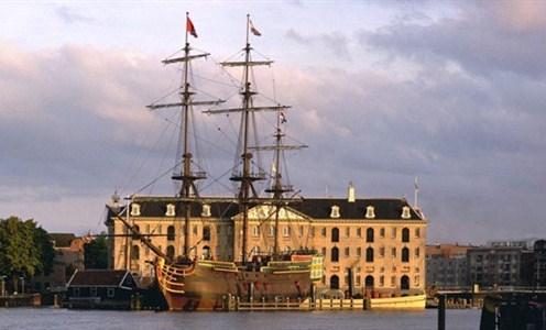 El Museo Marítimo de Amsterdam