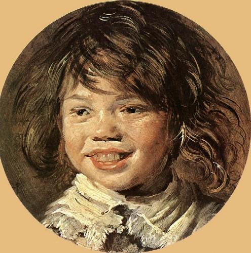 Niño riendo, Frans Hals