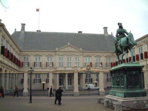 Galeria Noordeinde, en el Palacio Real de La Haya