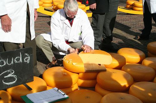 Variedades de quesos en Holanda