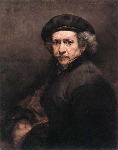 Rembrandt autorretrato