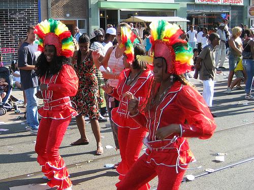 Summer Carnival, carnaval de verano en Rotterdam