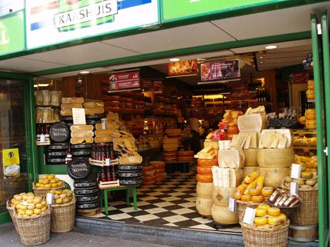 Tienda de quesos en Amsterdam